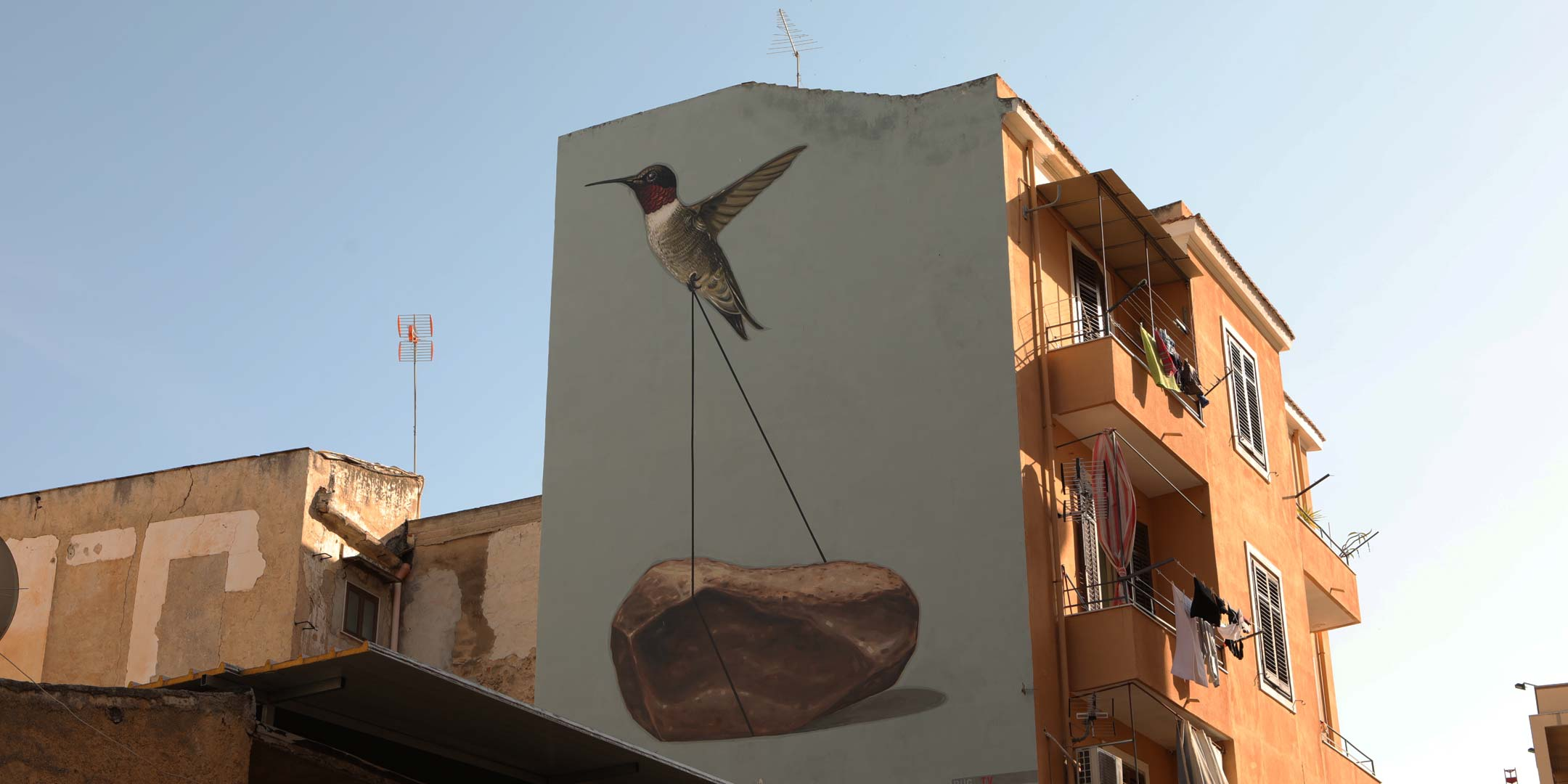 The art of murals in Palermo