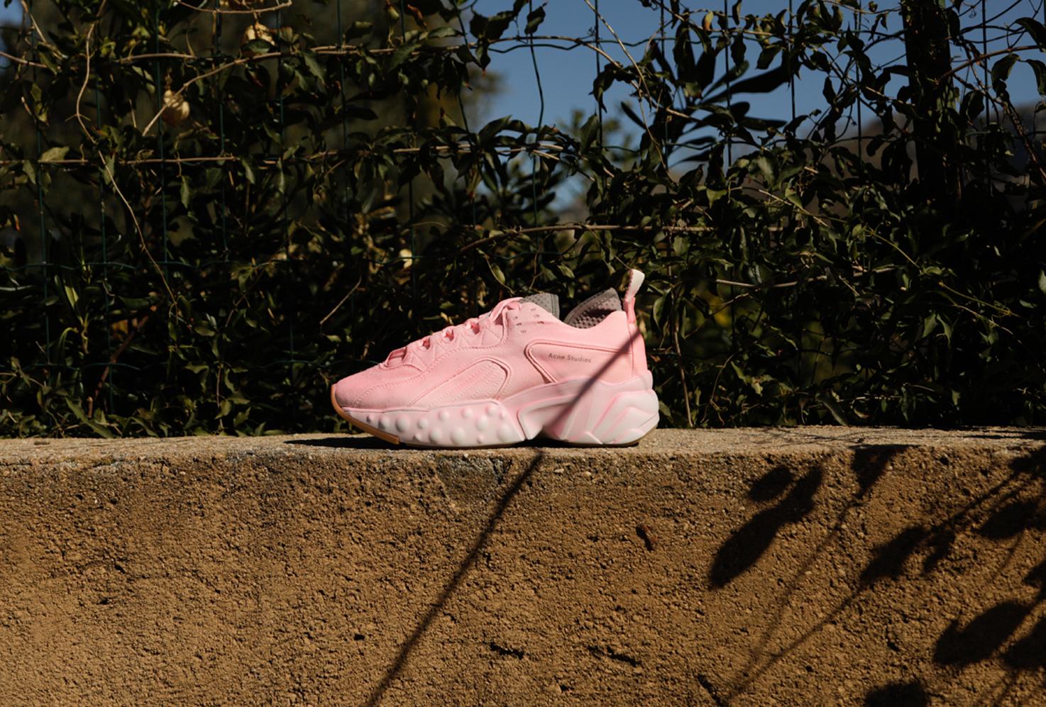 Who said sneakers?